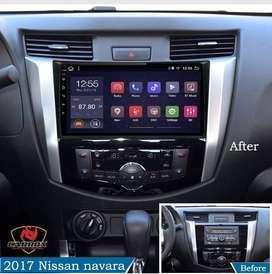 NISSAN NAVARA NP300 - 2016 2018 AUTORADIO ANDROID WIFI GPS YOUTUBE PLAY STORE PANTALLA TACTIL