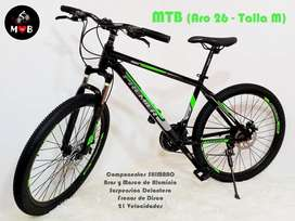 Vendo bicicletas montañeras importadas PREMIER Aro#26