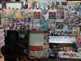 Parada de diarios y revistas en Estacion Alberti Subte A