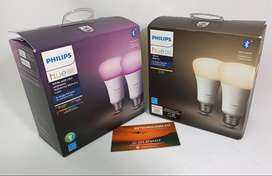 Bombillos Inteligentes de Colores Philips Hue bluetooth