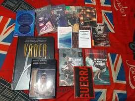 Varios libros en perfecto estado