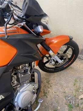 Vendo moto YAMAHA YBR 125 modelo 2018