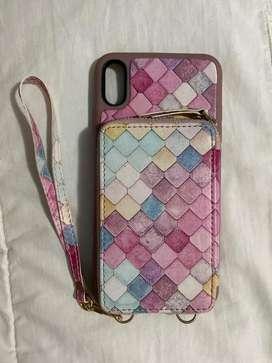 Case iPhone Pro Max con cartera
