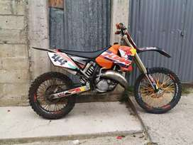 Vendo KTM Nitida. Negociable