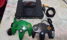 Nintendo 64 perfecto estado.