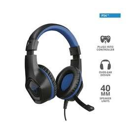 Audifono Diadema Gamer Trust Gxt 404B Rana 3.5 Mm Pc,Laptop,Smartphone,Tablet,Ps4