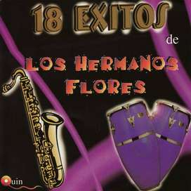 "Los Hermanos Flores ""18 Exitos (1 Cd, $16)"""