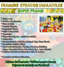 Salon de eventos de fiestas infantiles