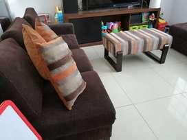 Remato juego de sala y comedor más alfombra