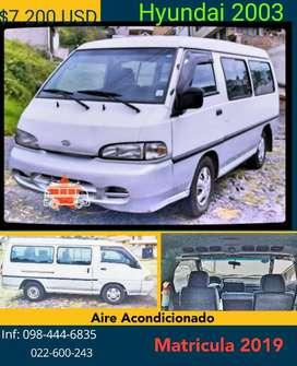 Hyundai 2003 Matriculado 2019
