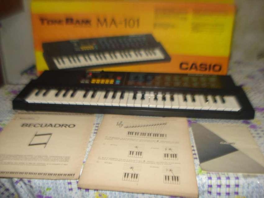Teclado Organo Casio Ma 101 Impecable En Caja, Manuales Etc 0