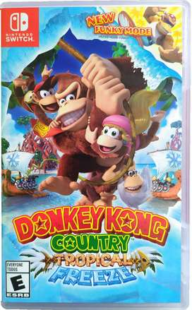 Donkey kong Country Tropical Freeze - ENVÍO GRATIS - Nintendo Switch