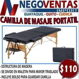 CAMILLA DE MASAJE PORTATIL