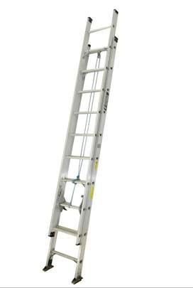 Escalera Extensión Aluminio 16 A 40 Peldaños / 10.80 Mts 136 Kg