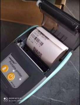 Mini impresora termina portatil