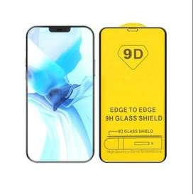 Vidrio Templado Glass Reforzado 9 D iPhone 12 Pro Black