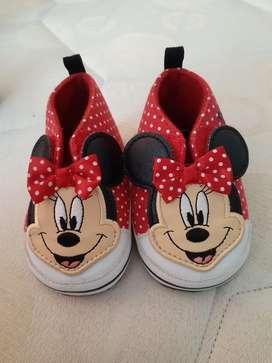 Zapatos Minnie  para Bebe