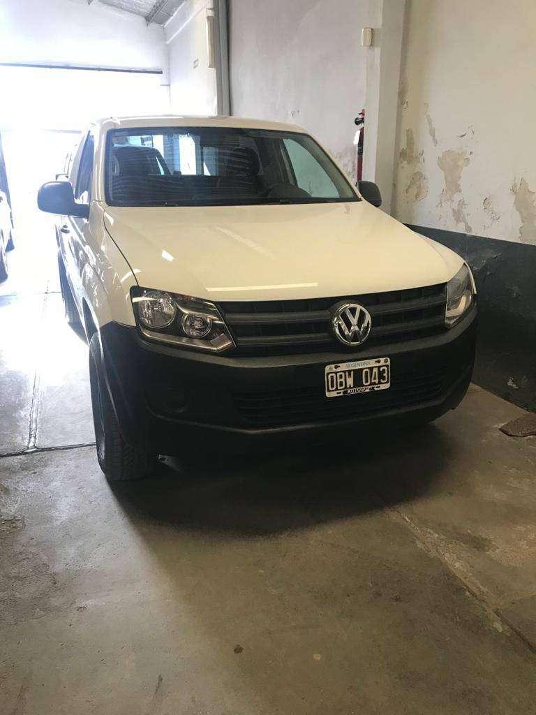 VW Amarok 2.0L - Cabina Simple - Año 2014 0