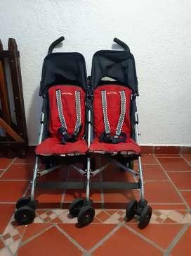 Choche paseado Twin Para bebe. Marca Maclaren