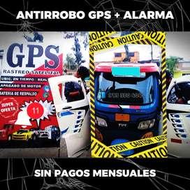 GPS ALARMA - PAGO ÚNICO