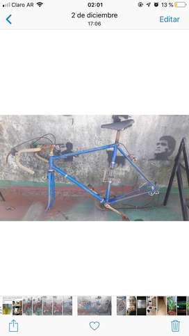 Bici carrera para restaurar (cuadro )