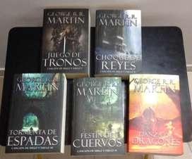 vendo libros juego de tronos