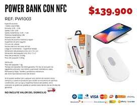 Power bank con nfc. Envío gratis