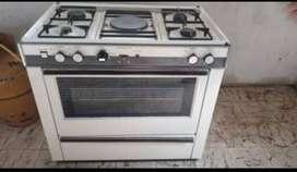 Cocina Durex a gas y eléctrica