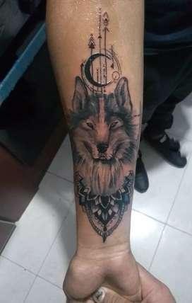 Realizo tatuajes tattoo sombras neotradi ect cotiza