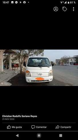 Hyundai H100 del 2007 color blanco