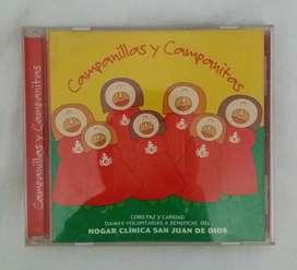 Villancicos campanillas y campanitas cd original
