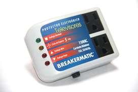 Protector - Regulador de Voltaje para Televisión