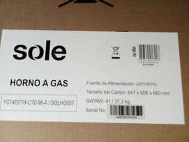 Horno Empotrable a Gas SOLHO007