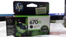 CARTUCHO HP 670XL ORIGINAL
