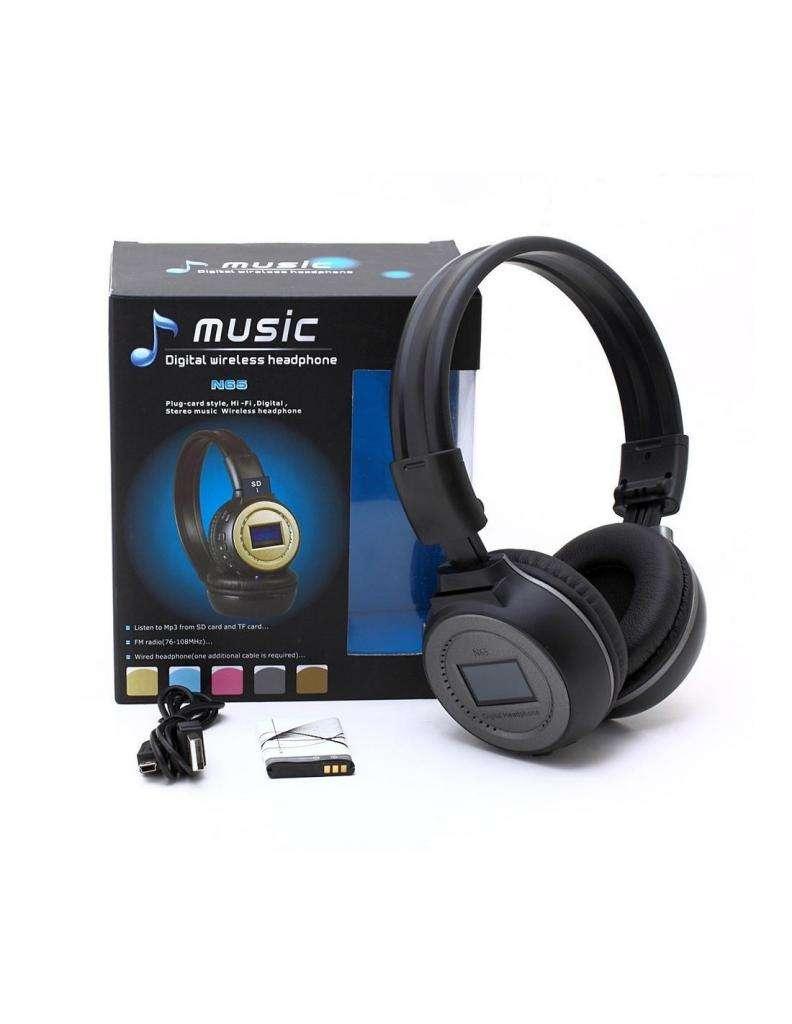 Diadema Audifono Music Bluetooth N65 0