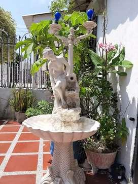 Vendo fuente en marmol