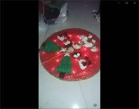Hermoso Pie de arbol navideño con luces