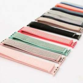 Pulso Manilla Correa De Apple Watch Colores Velcro 42/44mm