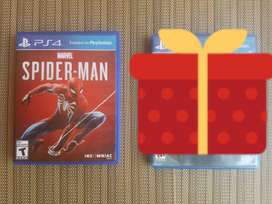 SE VENDE SPIDERMAN PS4