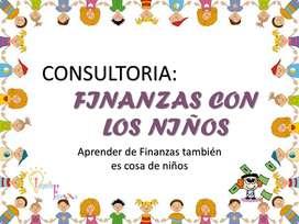 CONSULTORIA FINANZAS CON LOS NIÑOS Y JOVENES