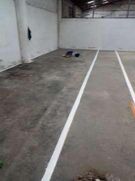 Servicios de pintura epóxica para pisos