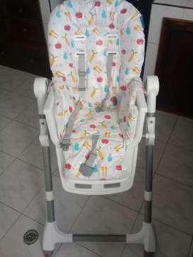 Vendo silla comedor para bebé