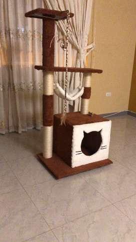 Rascador gym para gato