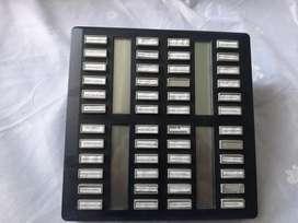 NORTEL CAP 48 botones NT8B41 Modulo negro