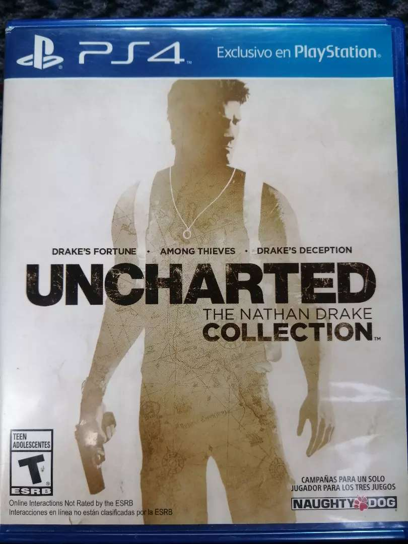 UNCHARTED COLLECTION PS4 0