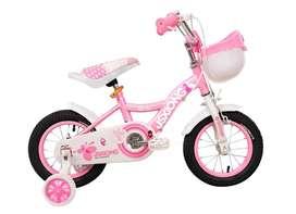 Bicicleta Niña Rin 12 Pulgadas Butterfly Mariposa