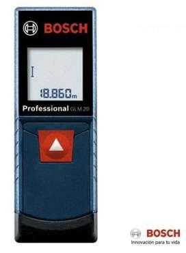 Medidor de distancia Capacidad 20 Metros  Bosch NUEVO