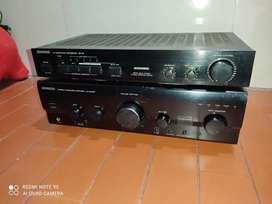 Amplificador Kenwood con módulo procesador
