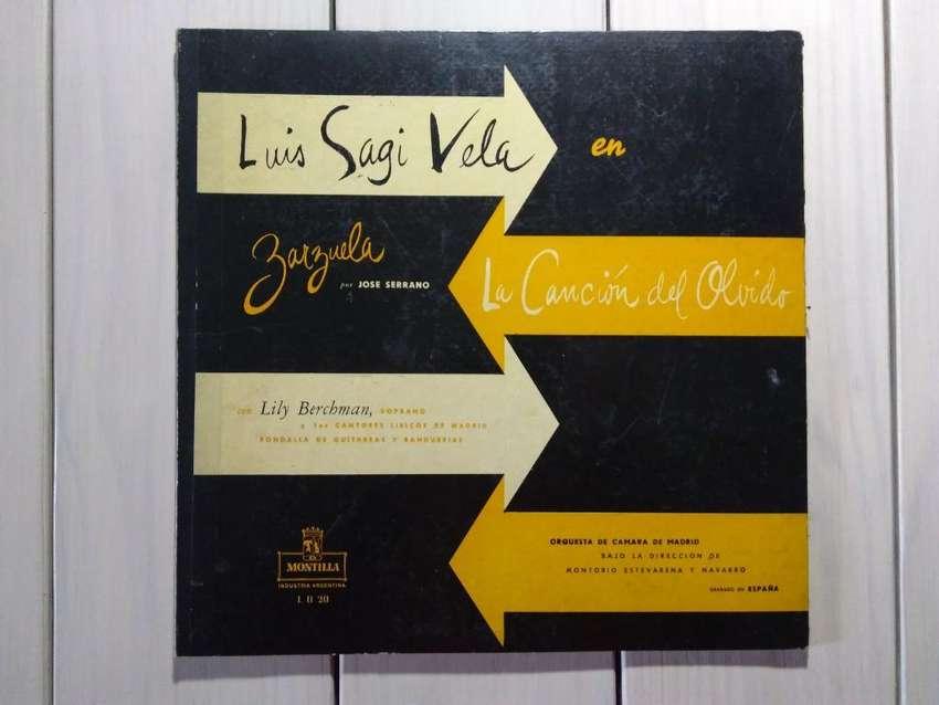 Lp Vinilo Luis Sagi Vela La Canción Del Olvido 0