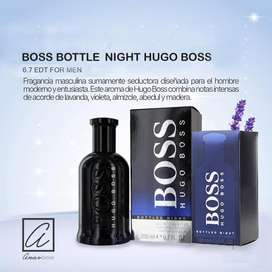 PERFUME BOSS BOTTLE NIGHT HUGO BOSS 200 ml. para hombres